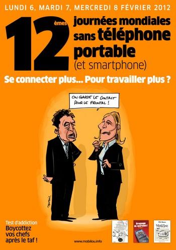 12e Journées Mondiales sans téléphone portable : 6,7,8 février 2012 dans CONSOMMER AUTREMENT 2012melanchonlepen